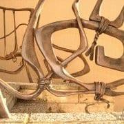 ročno kovana stopniščna ograja