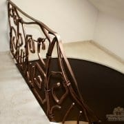 kovana stopniščna ograja