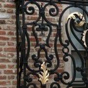 ročno kovan francoski balkon