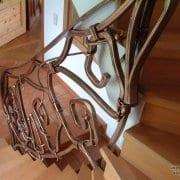 ročno kovane stopniščne ograje